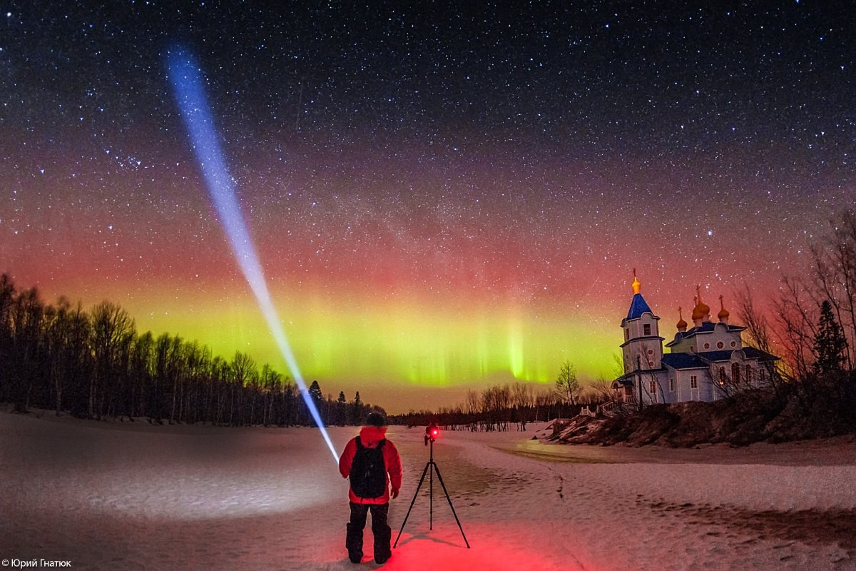 Northern lights Russia tours