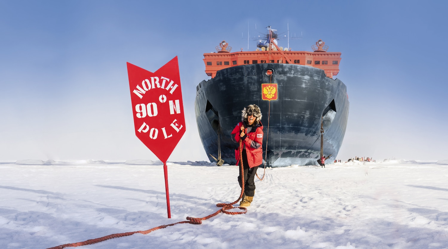 north pole cruise, Russia tour